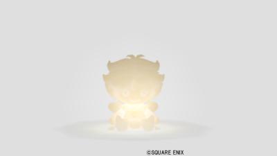 【ハウジング】家具 > 照明・ランプ「エルフ人形男のライト」