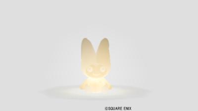 【ハウジング】家具 > 照明・ランプ「プクリポ人形男のライト」
