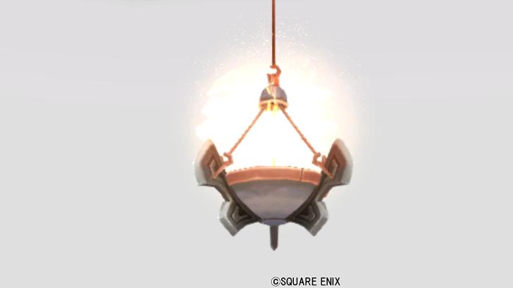 【ハウジング】家具 > 照明・ランプ「古代オルセコ吊りランプ」