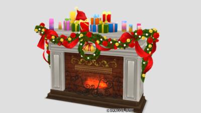 【ハウジング】家具 > その他「クリスマスの暖炉」