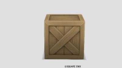 【ハウジング】家具 > その他「木箱」