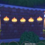 【ハウジング】庭具 > 照明・ランプ(庭)「スライムベス提灯」