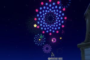 【ハウジング】庭具 > 照明・ランプ(庭)「星花火モビール・庭」