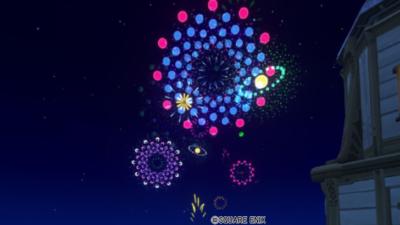 【ハウジング】庭具 > 照明・ランプ(庭)「水玉花火モビール・庭」