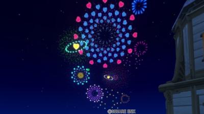 【ハウジング】庭具 > 照明・ランプ(庭)「ハート花火モビール・庭」