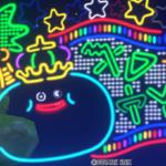 【ハウジング】庭具 > 照明・ランプ(庭)「キングスライムネオン」