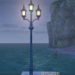 【ハウジング】庭具 > 照明・ランプ(庭)「モダンな街灯」