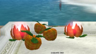 【ハウジング】庭具 > 照明・ランプ(庭)「氷の領界の木の実ランプ」