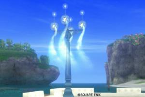 【ハウジング】庭具 > 照明・ランプ(庭)「銀河の街灯」