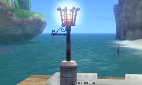 【ハウジング】庭具 > 照明・ランプ(庭)「古グランゼドーラの灯火」