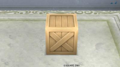 【ハウジング】庭具 > その他(庭)「お庭用木箱」