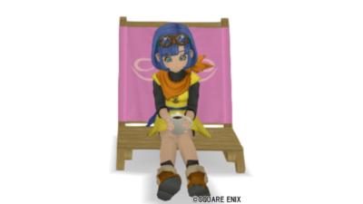 【ハウジング】庭具 > 像・人形(庭)「ピクニックセラフィ」