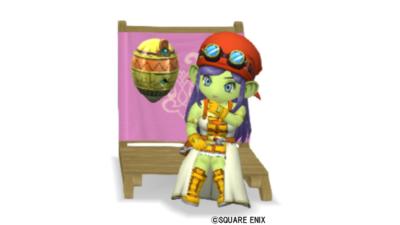 【ハウジング】庭具 > 像・人形(庭)「ピクニックウルタ」