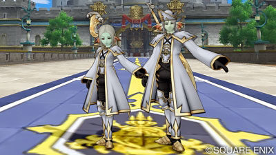 【ドラクエ10】ポーズ「聖騎士」