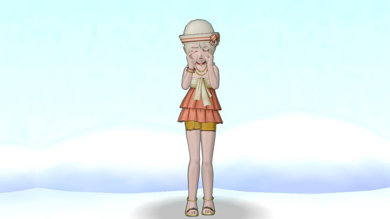 【ドラクエ10】しぐさ「泣く」