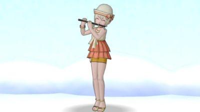 【ドラクエ10】しぐさ「演奏フルート」