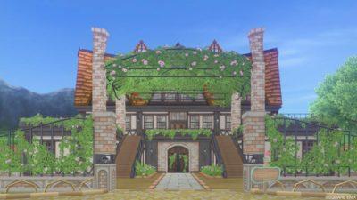 【ハウジング】家キット > Mサイズ「バラの洋館の棟」(うるわしの館)