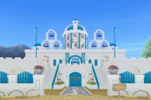 【ハウジング】家キット > Mサイズ「白亜のお屋敷の棟」(うるわしの館)