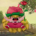 【ドラクエ10】モンスター>植物系「ローズフプリンセス」(きりかぶこぞう転生)