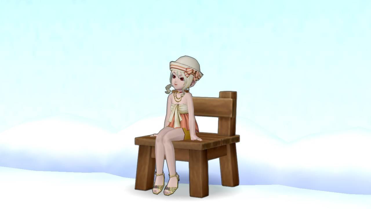 【ドラクエ10】しぐさ「イスに座る」