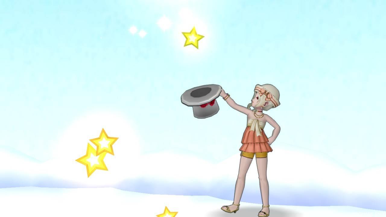 【ドラクエ10】しぐさ「キラ星」