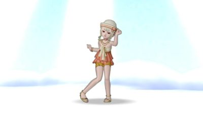 【ドラクエ10】しぐさ「ダンシングライト」