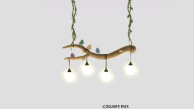 【ハウジング】家具 > 照明・ランプ「小鳥のペンダントライト」