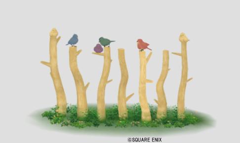 【ハウジング】家具 > その他「小鳥の柵・白」