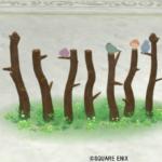 【ハウジング】庭具 > その他(庭)「小鳥の柵・茶」
