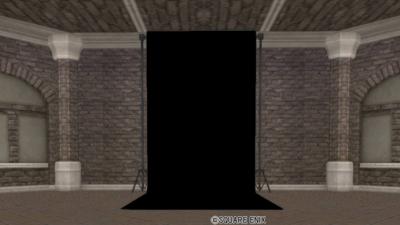 【ハウジング】家具 > かべ「黒色の背景スクリーン」