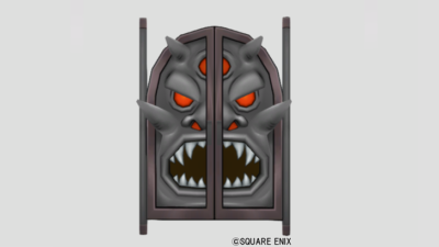 【ハウジング】家具 > その他「オーガキングの盾扉」