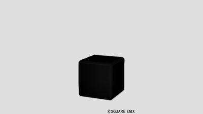 【ハウジング】家具 > その他「黒色ブロック」