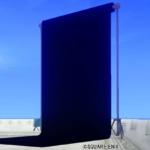 【ハウジング】庭具 > その他(庭)「庭用黒の背景スクリーン」