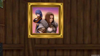 【ハウジング】家具 > 壁かけ家具「とある親友同士の肖像画」