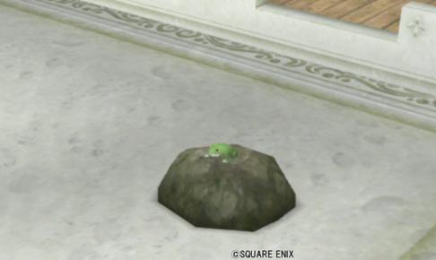 【ハウジング】庭具 > その他(庭)「カエルの置物・庭」