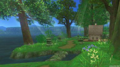 アズラン住宅村_おごそかな林道地区