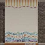 【ハウジング】家具 > かべ「貝殻モチーフの便利な壁」