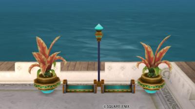 【ハウジング】庭具 > その他(庭)「ウルベアのベンチセット」