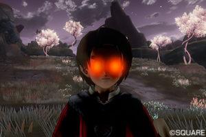 【ドラクエ10】しぐさ「赤いまなざし」