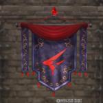 【ハウジング】家具 > 壁かけ家具「壁かけグレン紋章旗」