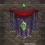 【ハウジング】家具 > 壁かけ家具「壁かけアズラン紋章旗」