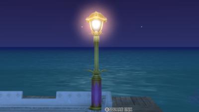 【ハウジング】庭具 > 照明・ランプ(庭)「アルウェーンの街灯」