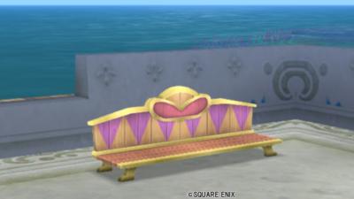 【ハウジング】庭具 > その他(庭)「アルウェーンのベンチ」