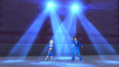 【ドラクエ10】しぐさ「ダンシングライト青」