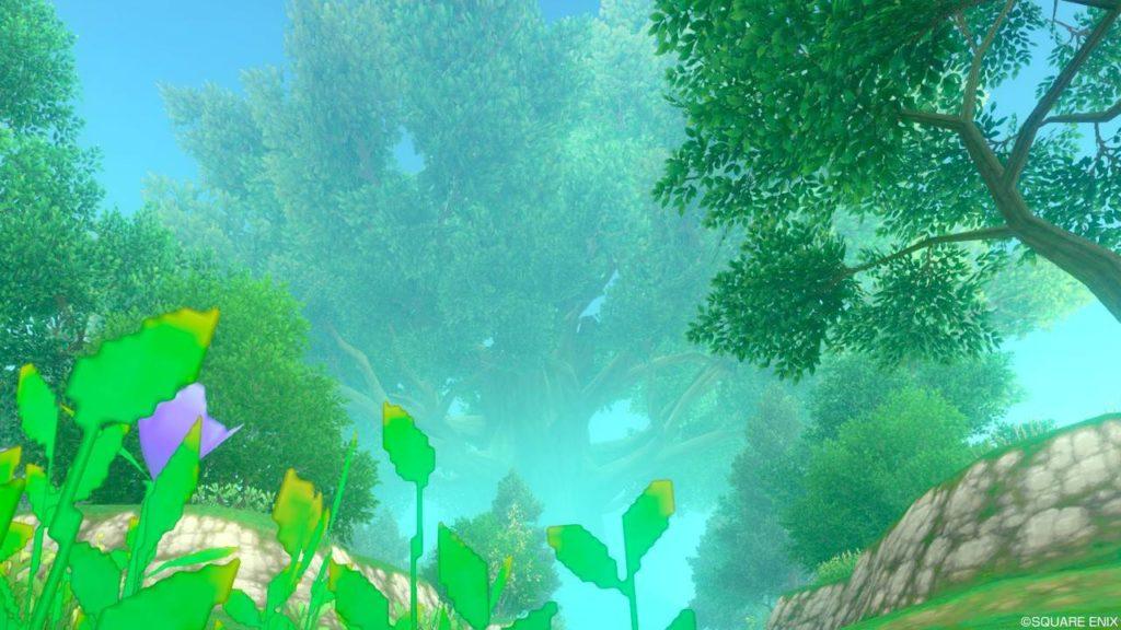 【ドラクエ10】フィールド >エルトナ大陸「久遠の森」