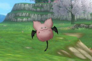 【ドラクエ10】モンスター > あくま系「ピンクモーモン」