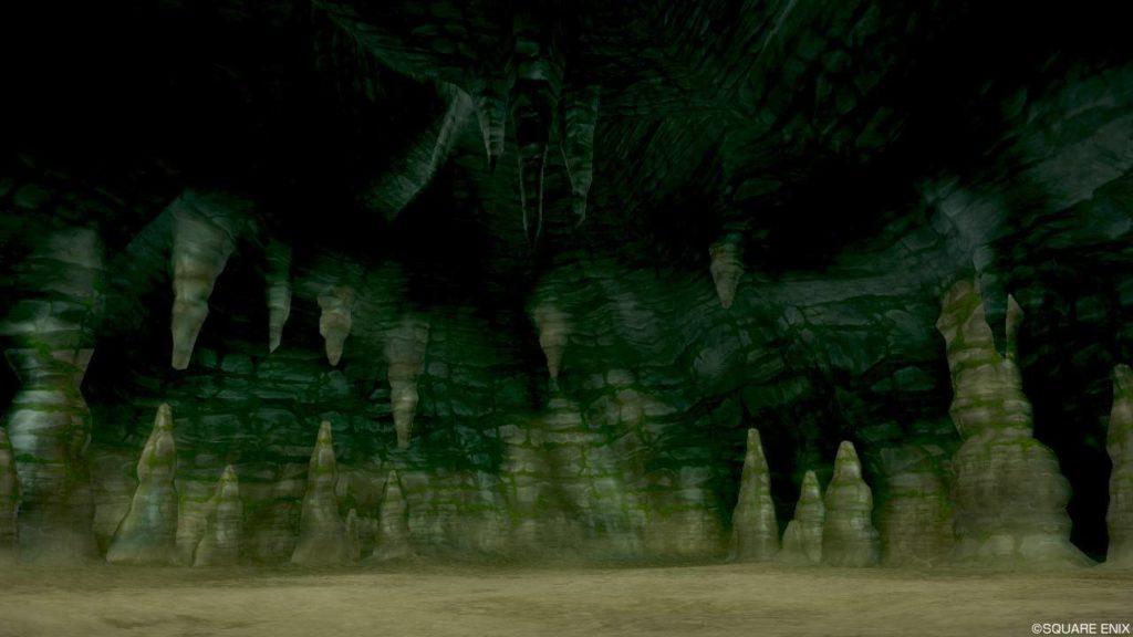 【ドラクエ10】フィールド >エルトナ大陸「イムイ地下空洞」