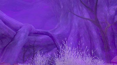 【ドラクエ10】フィールド >エルトナ大陸「暗黒大樹のふもと」