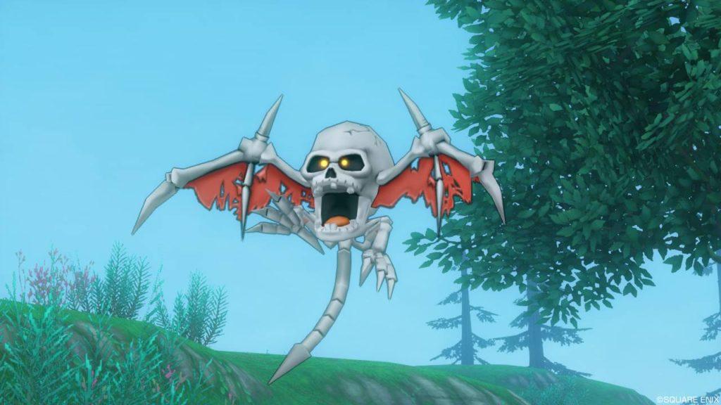 【ドラクエ10】モンスター > ゾンビ系「ほねコウモリ」