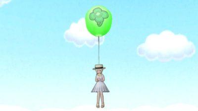 【ドラクエ10】しぐさ「風船ふわふわ」